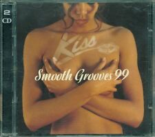 Kiss Smooth Grooves 99 - Jay-Z/Black Eyed Peas/Mica Paris/Mary J Blige 2X Cd Vg