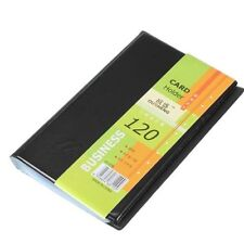 Top Holder Business Name Leather ID Credit Card Keeper 120 Cards Case Book