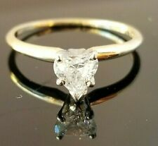 .55CT Heart Solitaire Diamond Engagement/Fashion 14k ring