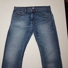 Men's Banana Republic Vintage Straight 100% Cotton blue jeans 30 x 29 1/2