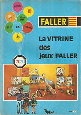 Catalogo Faller 1972/73 in francese - Giocattoli Treni elettrici