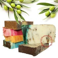 Handmade Artisan Olive Oil Soap Bar Glycerin Base SLS and parabens free