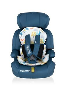 Brand new Cosatto Zoomi group 123 anti escape car seat in Foxtale from 9 to 36kg