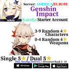 [America/NA/Europe/EU/Asia/AS] Genshin Impact Kazuha Starter Account
