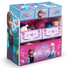 Eisprinzessin FROZEN Multi Toy Organizer Spielzeug Holz Textil Aufbewahrungsbox