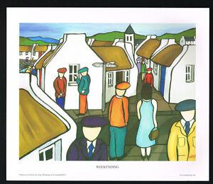 Weekending/Village/N/Irish Art Group/Fine Print/Martin Laverty/Ireland/New