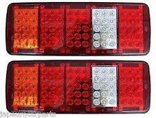 Remolque/Recuperación Camión 12 V Voltios freno deja cola trasero LED Luz Lámpara Unidad Set