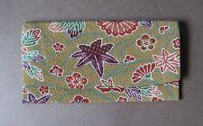 *Vintage Japanese Multicoloured Floral Rayon Purse