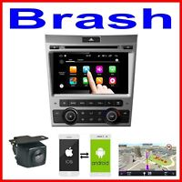 """8"""" VE COMMODORE SERIES 1 DVD GPS NAVIGATION B/TOOTH HEAD UNIT + CAMERA   SILVER"""
