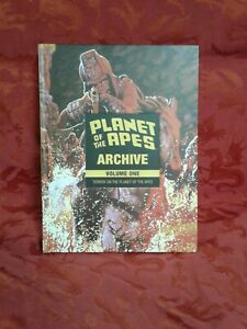 Rare vg+ terror on Planet of the Apes Archive Vol. 1: HC omnibus gift comic boom