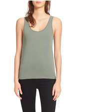 NEW rag & bone /JEAN Base Tank Top in Military Sage Green Size: Large L