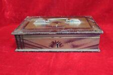 Iron Case Box Old Vintage Antique Home Decor Decorative Collectible PI-17