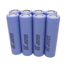 8X 18650 30B 3000mAh High Drain ICR Litio 3.7V Batería Recargable Battery Vape