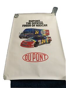 Jeff Gordon Dupont Original Poster 38.5X27