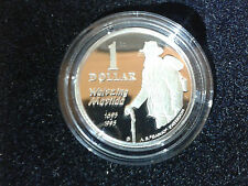 1995 $1 silver coin proof Waltzing Matilda