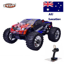 HSP 1/10 Scale Nitro Gas Power Rc Car 4wd Off Road Monster Truck Vehicles Kits