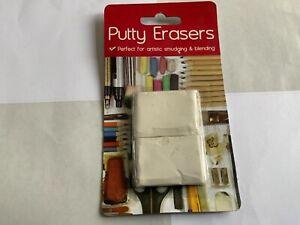 2 x Putty Erasers Set Art Artistic Blending Craft soft rubber