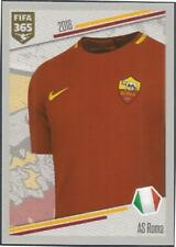 PANINI-2018 FIFA 365- #363-AS ROMA HOME KIT