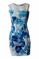 *ELIE TAHARI* SLEEVELESS SHIFT DRESS (UK 8)