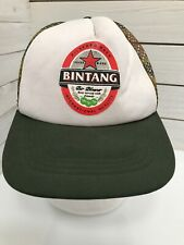 Bintang Bali Pilsener Beer Mesh Baseball Cap Hat Adjustable Snap Back Camo Bill
