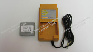 Hetronic Mini Grey DC Battery Charger UCH-2 for 3.6 volt 1500mah Grey Batteries