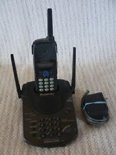 Panasonic KX-TG2560b Cordless Phone  Answering System w/Handset & Paperwork
