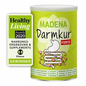 MADENA Darmkur Forte, Darmflora Komplex Vegan Glutenfrei Lactosefrei Zuckerfrei
