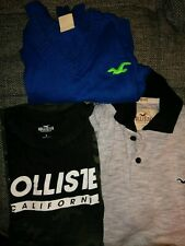 Men's Hollister Lot Of 3 Size Small T-Shirt