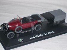 Skoda L&k L & K 110 Combi Oldtimer Laurent Clement Bra 143abh902rc 1/43 Abrex Mo