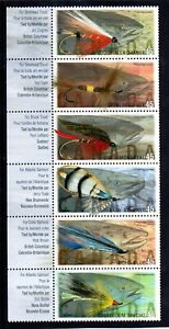 CANADA 1998 FISHING FLIES SG,1784-1789 UM/M NH LOT 4409C