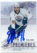 ZACH STORTINI OILERS AUTOGRAPH AUTO 07-08 UPPER DECK ICE ROOKIE 318/999 *38780