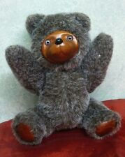 Raikes Bears for Applause Wood Face Jointed Teddy Bear  R. Raih signed