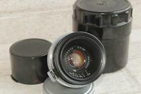 Lens JUPITER - 12 KMZ  (2,8/35) USSR Mount: Contax, Kiev Black Soviet