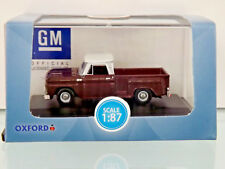 Busch 201124158 - H0 1:87 - Oxford: CHEVROLET Stepside Pick-up - Nuevo en EMB.
