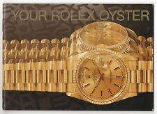 LIBRETTO Il Vostro Rolex Oyster 1994 Daytona Explorer Submariner GMT Sea-Dweller OEM
