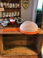 Vintage Orange Plastic Astex Sieve / Strainer with Handle – Kitchenalia – Retro!