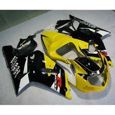 INJECTION Plastic Bodywork Fairing Set For SUZUKI GSXR600 GSXR750 2001-2003 2002