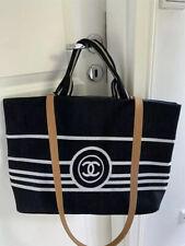CHANEL VIP Gift Tasche Shopper Bag Schwarz Deauville Chanel