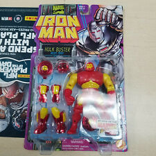 NEW Iron Man Animated Series Hulk Buster Iron Man RARE ToyBiz 1995 Action Figure