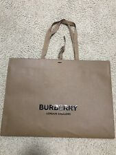 Burberry Shopping Bag Large With New Logo And Ribbon