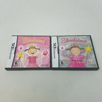 Pinkalicious and Silverlicious Nintendo DS Kids Games Lot of 2 - CIB, Rated E