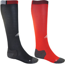 ADIDAS RUGBY SOCKS 40-45 NEW 25€ long training football soccer sport black red