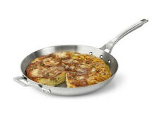 "Calphalon Accucore 12"" Omelette Pan Stainless Steel, Alluminum, Copper New"