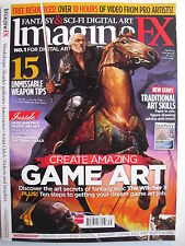 CRATE AMAZING GAME ART Xmas 2013 IMAGINEFX #103  Mint