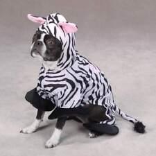 Zack & Zoey - Dog Puppy Halloween Costume - Zebra - Large L