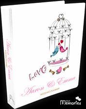 Wedding Planner/ love birds Gift Personal /Diary/Organiser/Engagement Present