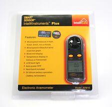 Handheld Anemometer Wind Speed Air Velocity Temperature Meter Tester 2in1 AR816+