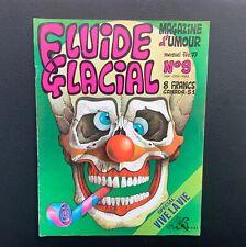Fluide Glacial n°9. Magazine d'umour. Éd Audie 1977