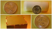1 Unze oz Silber Maple Leaf 2016 Kanada 5 $ Canada Münzen aus Tube Masterbox Neu