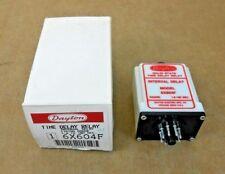 8 Pins DPDT Dayton Multi Function Timing Relay 4EB23N 24 Vac//DC 12A@240V